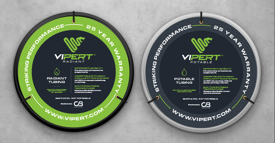 VIPERT packaging design