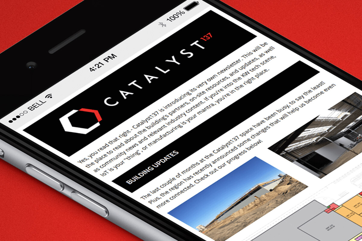 Catalyst137 email template
