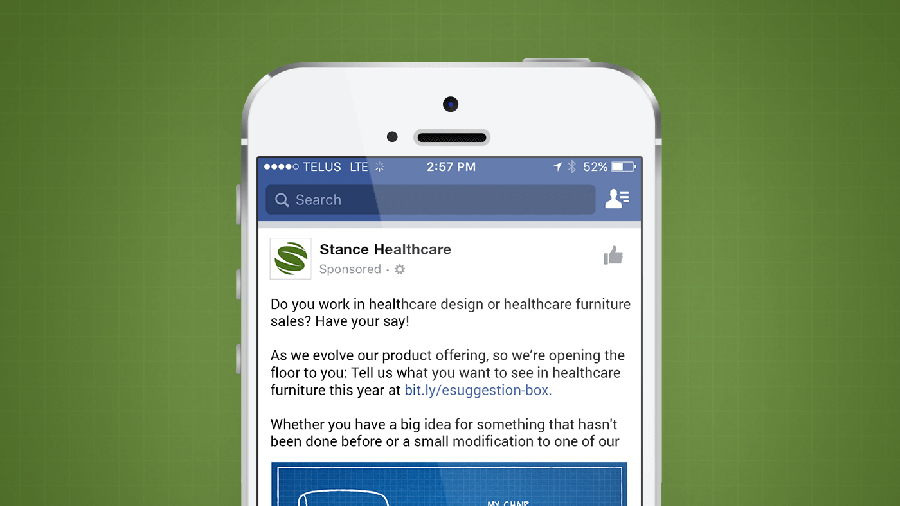Stand Healthcare digital ad