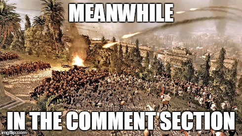 comment section