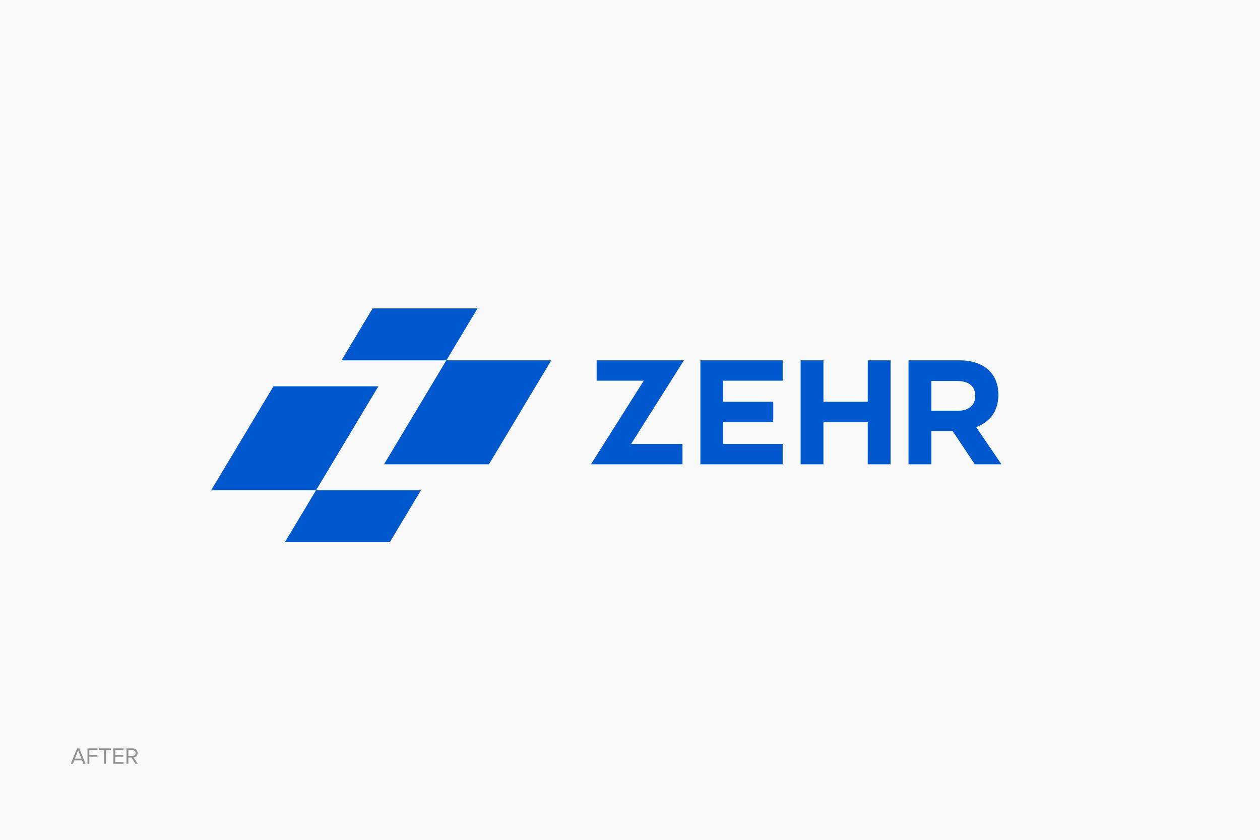 Zehr logo after