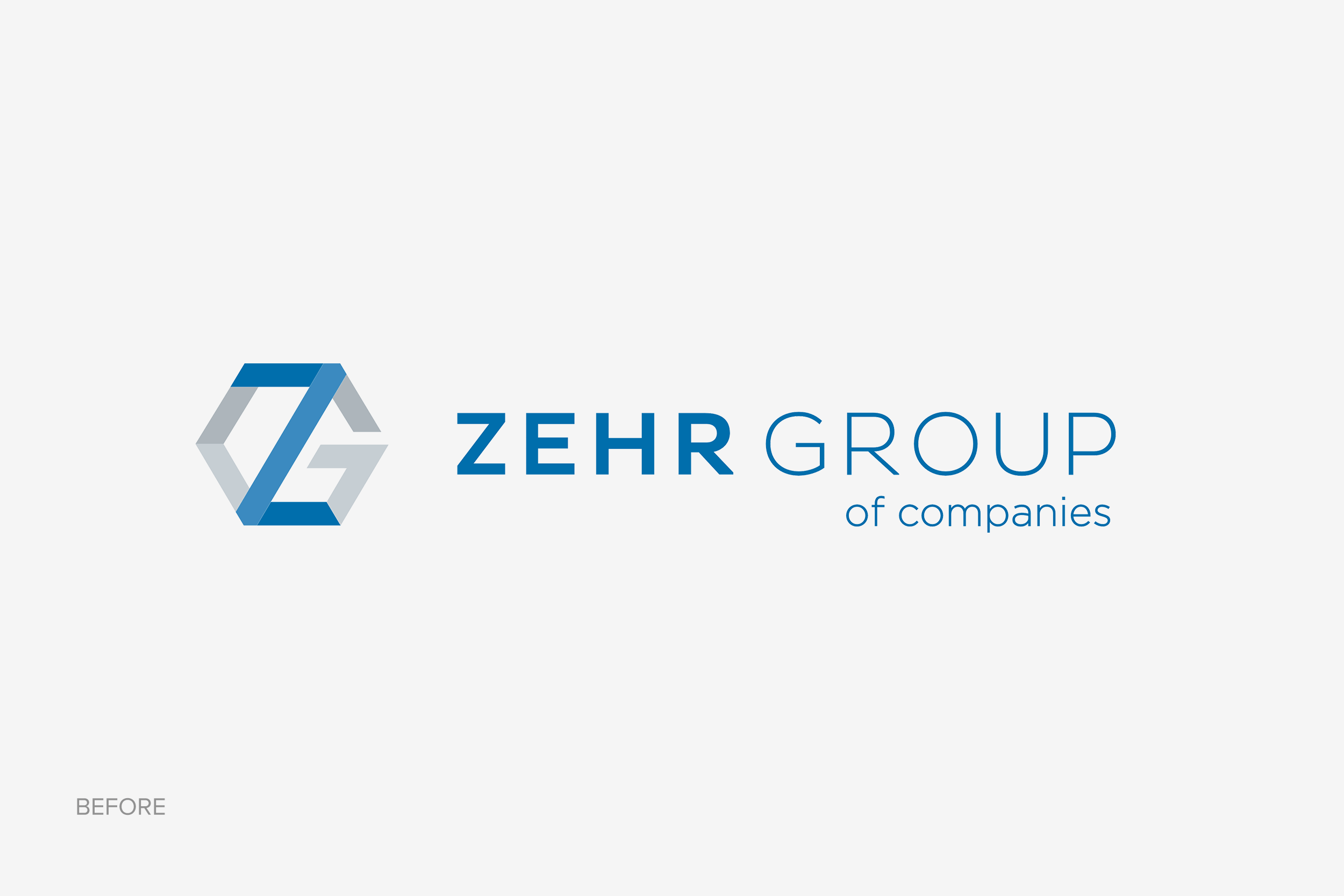 Zehr logo before