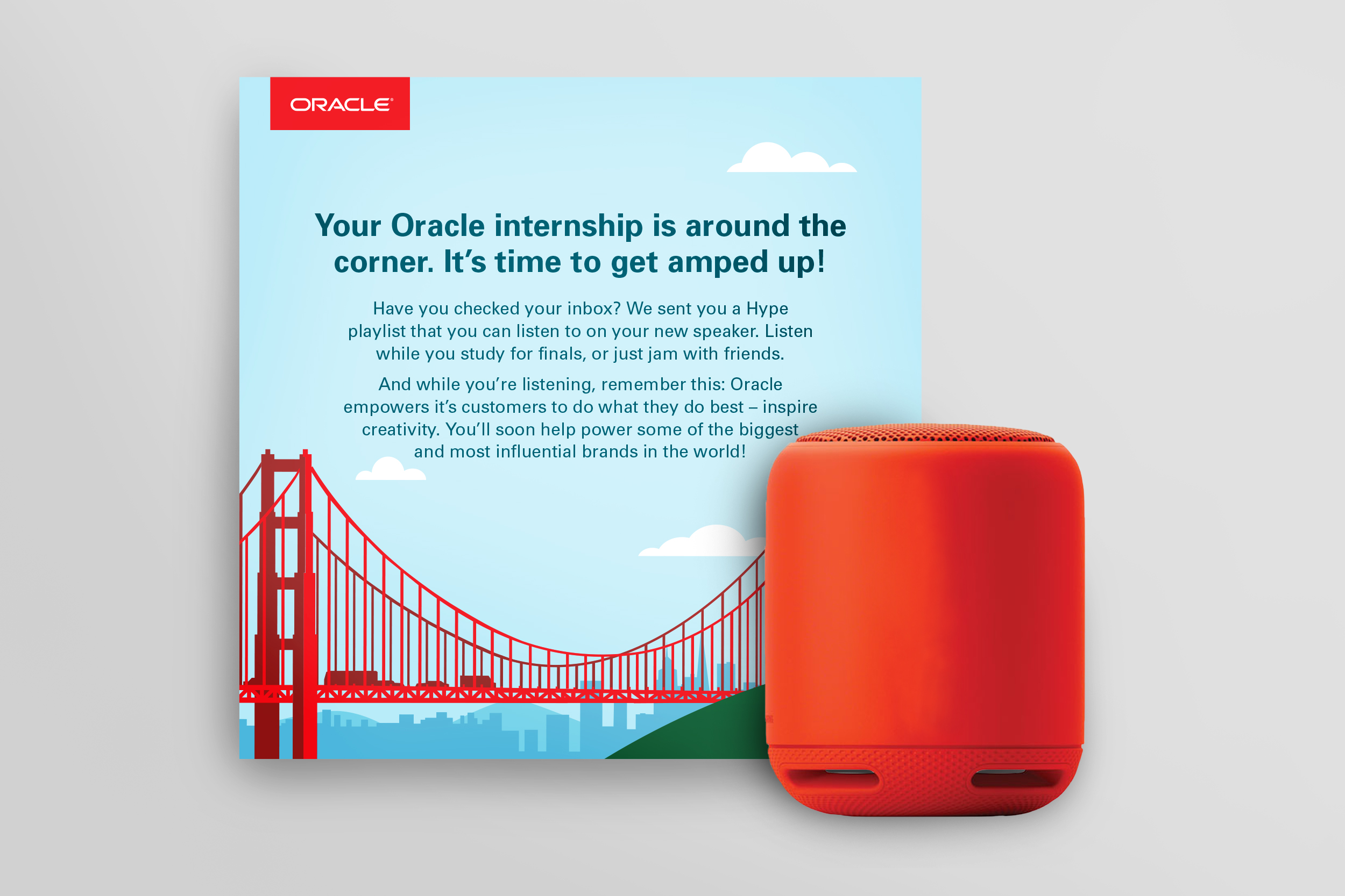 Oracle internship Sony touchpoint