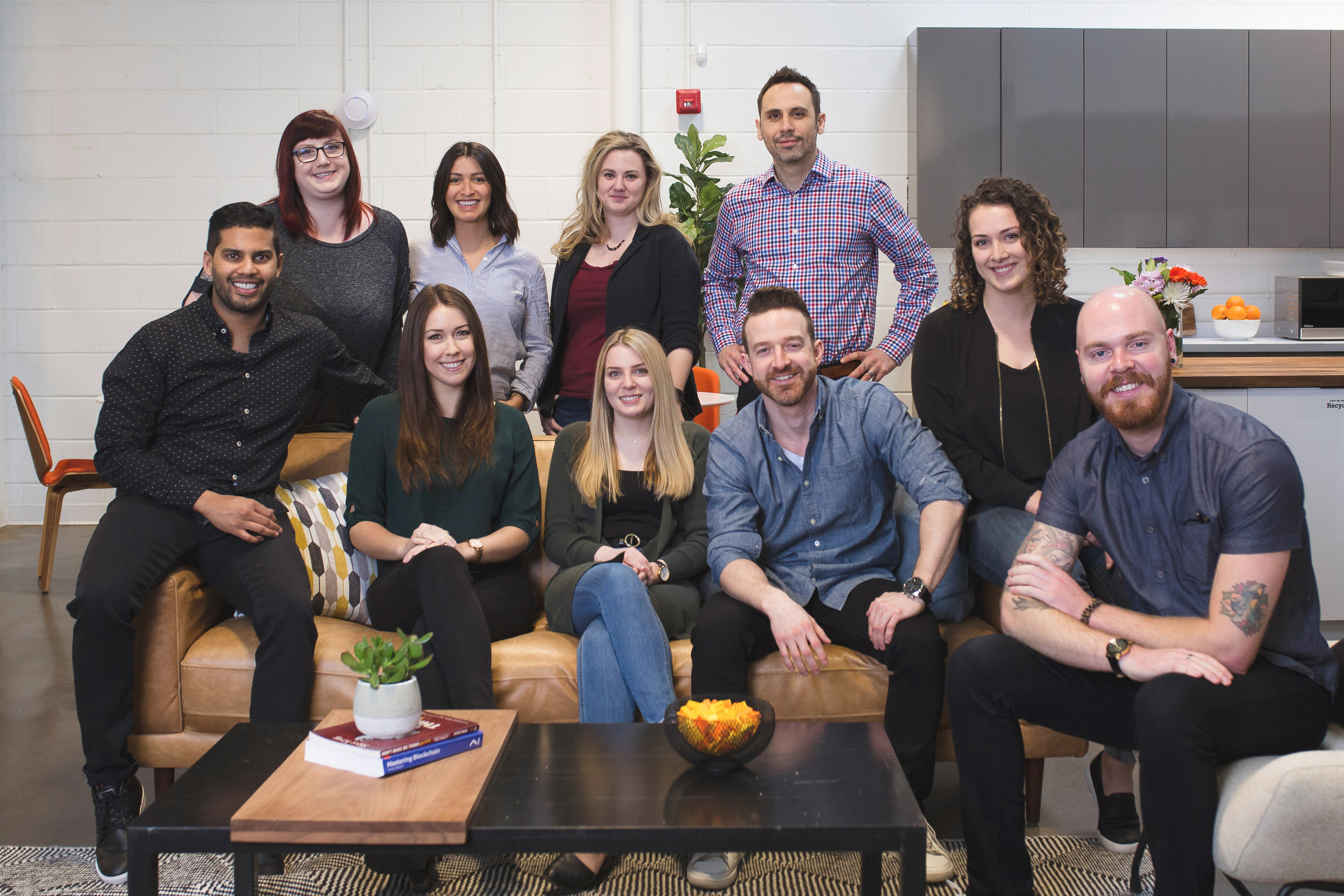 Stryve 10-year challenge: 2019 team photo