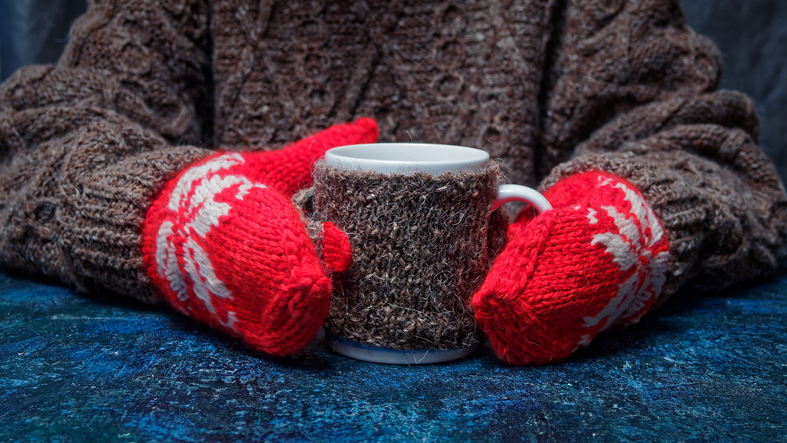 Keep your brain active over the holidays by learning to knit or crochet
