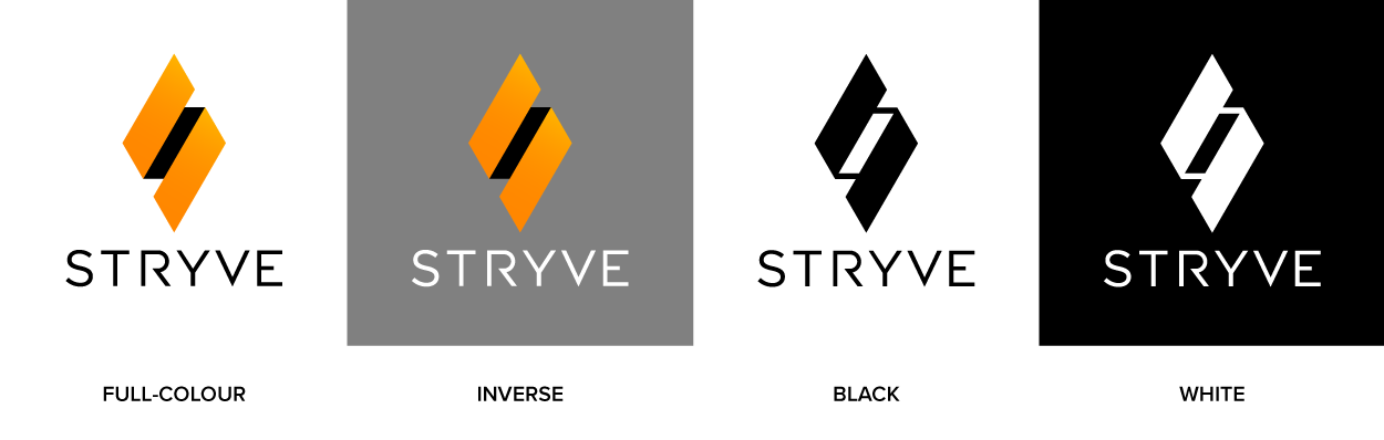 Example of logo colour variations