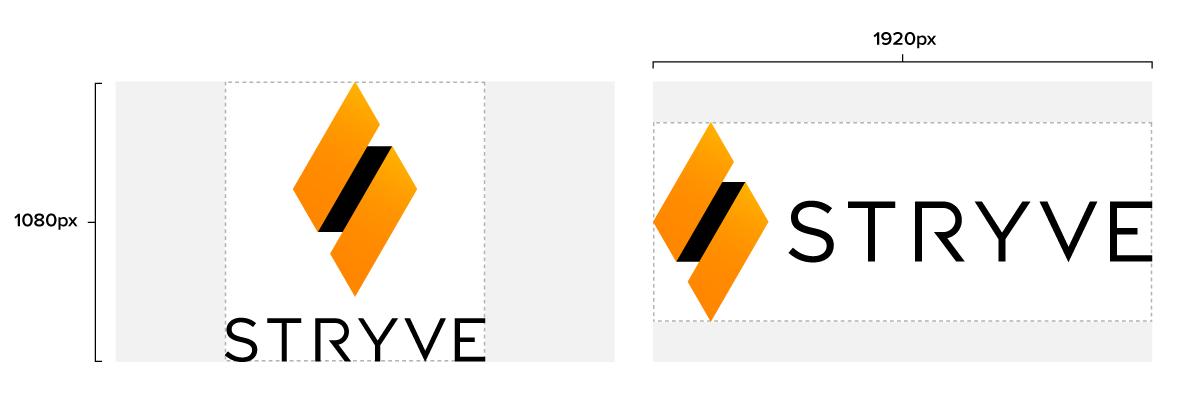 Logo sizing