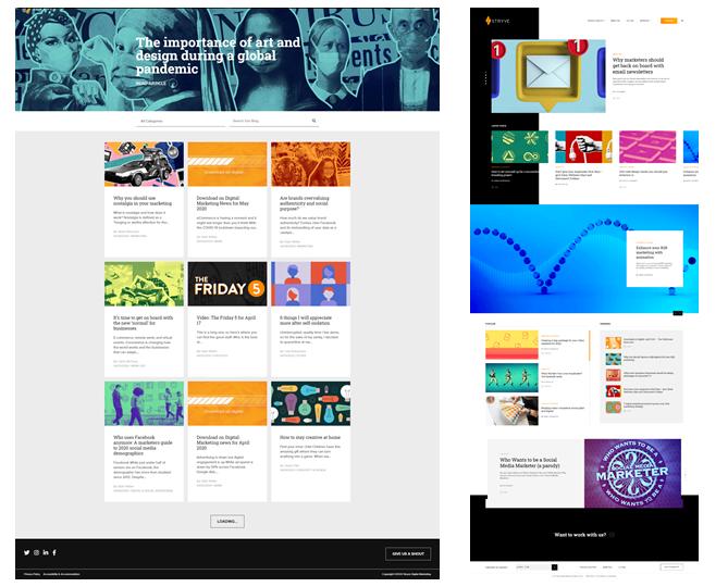 content hub vs blog