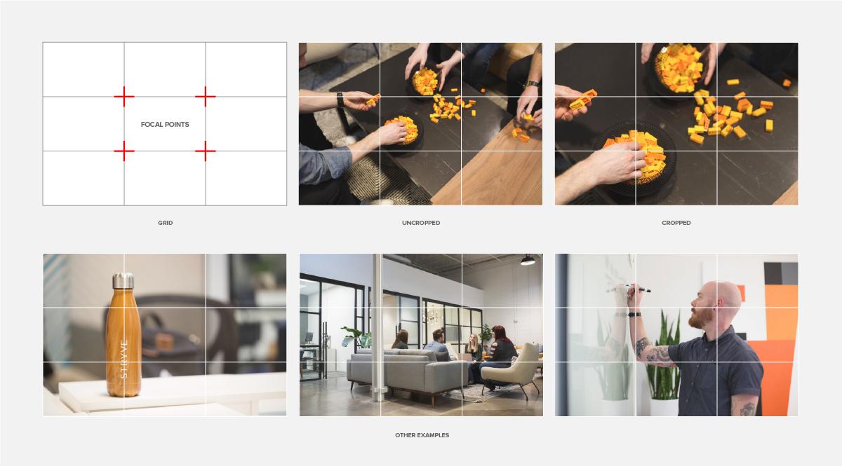 SlideShare slides showing proper cropping of images